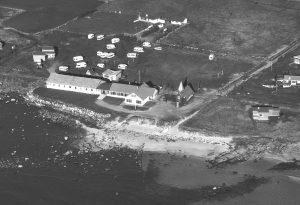 Racin Kolnes, strandleiren, redningsstasjon